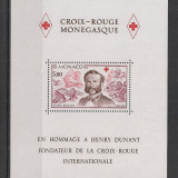 Monaco.1978 Crucea Rosie-Bl. AB.448 - Timbre straine