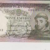 PORTUGALIA 20 ESCUDOS 1964 UNC, Europa