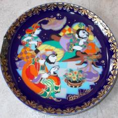 Farfurie - decorativa / de colectie - portelan Bavaria - Rosenthal - Sinbad Marinarul - Nr.8, Farfurii