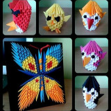 Figurine 3D Origami