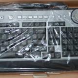 Tastatura multimedia cu telefon pentru SKYPE,Messenger-Model MC-9001 - Garantie