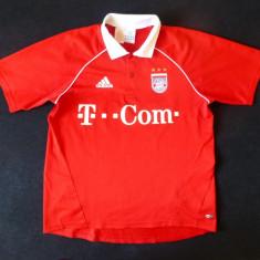 Tricou barbati - Tricou Adidas FC BAYERN MUNCHEN Climacool; marime M: 53 cm bust, 56 cm lungime