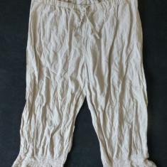 Pantaloni dama - Pantaloni ¾ Myrine&Me cu dantela, Designed in Belgium; marime XL, vezi dim.