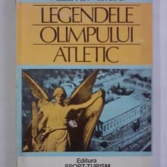 Legendele Olimpului atletic - Vladimir Moraru / R2P4F - Carte Hobby Sport