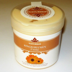 Remediu din plante - Crema cicatrizanta cu - GALBENELE - 250 ml - calmare si hidratare - piele iritata si uscata - GERMANIA - 2+1 gratis toate produsele la pret fix - SAL