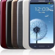 Samsung Galaxy s3 Alb - Telefon mobil Samsung Galaxy S3, 16GB, Orange, Quad core, 2 GB