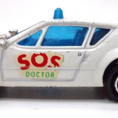MAJORETTE-REGULAR-SCARA 1/64 - ALPINE A 310,, S.O.S. DOCTOR''++2501 LICITATII !! - Macheta auto