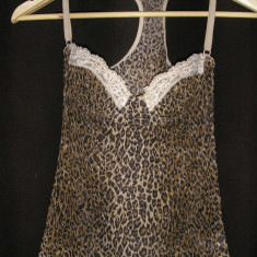 SUPER PRET ! Top intim Dolce Gabbana underwear ORIGINAL Sz xs animal print ! - Top dama Dolce & Gabbana, Culoare: Multicolor, Casual, Umerii goi, Bumbac