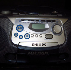 CD player cu radiocasetofon PHILIPS