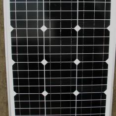 Panou Solar Fotovoltaic Monocristalin 50 W pentru Sisteme solare Fotovoltaice pe 12 V - Panouri solare