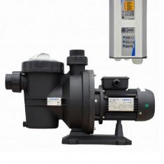 Pompa gradina, Pompe de suprafata - Pompa solara Piscina / Irigat 60- 80 MC Sistem Complet : Controler, Pompa, Motor Curent Continuu DC Germania