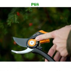 Foarfeca gradina - Foarfeca fiskars P68 ideala pentru gradina, vie, pomi fructiferi, flori