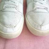 Adidasi barbati Lacoste, Piele naturala - Adidasi Lacoste, originali, din piele alba, marimea 39, 5.