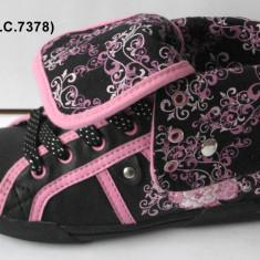 Pantofi sport copii-WINK-HS 133-3 - Adidasi copii Wink, Marime: 32, 34, 35, 36, 37, 38, Culoare: Negru