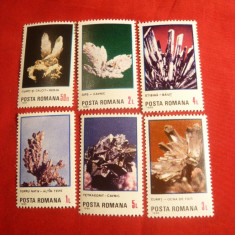Serie- Flori de Mina 1985 Romania, 6 val. - Timbre Romania