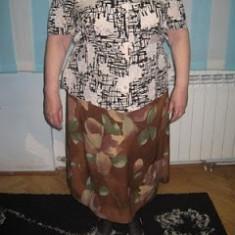 COSTUM DOAMNE-XXL - Costum dama, Culoare: Maro, Costum cu fusta