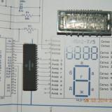Kit 2 de realizare a unui ceas digital cu afisaj VFD (era Nixie)