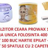 Produse epilare - DECANTOR APARAT INCALZITOR CEARA UNICA FOLOSINTA SAU TRADITIONALA KIT EPILARE