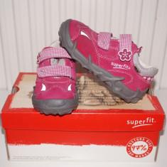 Pantofi copii, Fete - Pantofi sport fete Goretex Superfit Austria - NOI, ORIGINALI!