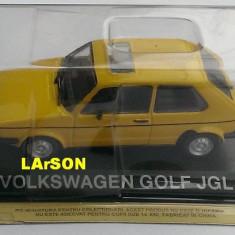 Macheta auto, 1:43 - Macheta metal DeAgostini Volkswagen GOLF JGL - NOUA+revista Masini de Legenda 51