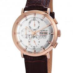 Ceas de lux Engelhardt Edgar Rose Gold Silver, original, nou, cu factura si garantie! - Ceas barbatesc Engelhardt, Mecanic-Automatic