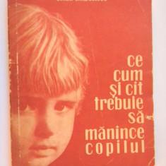 Carte Retete pentru bebelusi - CE CUM SI CAT TREBUIE SA MANANCE COPILUL Emilia Andreescu