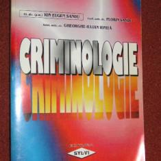 Criminologie - Ion Eugen Sandu, Florin Sandu, Gheorghe Iulian Ionita - Carte Criminologie