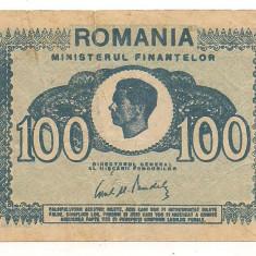 Bancnote Romanesti - Bancnota-100 lei 1945