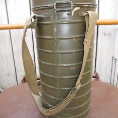 Cutie de masca de gaze romaneasca ww2