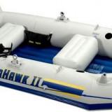 Barca SEAHAWK II Intex ,pentru 3-4 persoane ;inclus set vasle  si pompa
