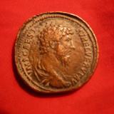 Moneda Antica - Sestert Aurelian, revers Concordia -Copie veche bronz, F.Rara !