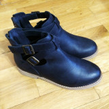 Cizme dama Asos, Marime: 37, Piele naturala, Negru - Asos Leather Boots – 150 Ron Marime: 37
