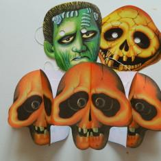 Costum copii - Set de 4 produse pentru copii, Halloween, deghizare de Halloween, schelet masca