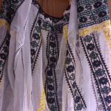 IE populara din zona Olteniei, lucrata manual - Costum populare, Marime: Marime universala, Culoare: Alb