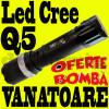 Lanterna Led CREE Zoom profesionala lupa acumulator suport baterii