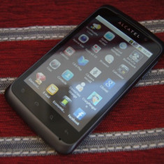Telefon Alcatel, Negru, Orange - Vand Alcatel One Touch 991