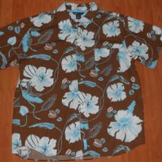 Camasa barbati H&m, Maneca scurta - Camasa H&M - Motiv Florar, Flori, De vara. HAWAII