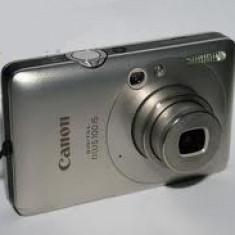 Aparat Foto compact Canon, Compact, 12 Mpx - Aparat foto digital Canon IXUS 100 IS plus incarcator si husa