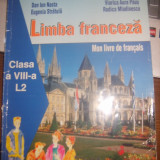 Manual Limba Franceza L2 clasa a VIII--a Dan Nasta, Stratula, Paus, Mladinescu - Manual scolar, Clasa 8, Limbi straine
