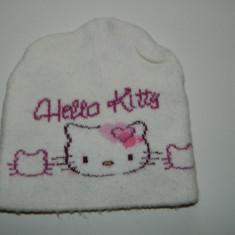 Caciula Copii - Caciula, caciulita pentru fetite, marimea 1-3 ani, licenta Sanrio, cu Hello Kitty
