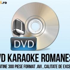 DVD KARAOKE ROMANESTI 300 PIESE - Echipament karaoke Altele