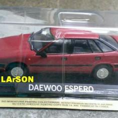 Macheta auto, 1:43 - Macheta metal DeAgostini - Daewoo Espero - NOUA Sigilata, Masini de legenda