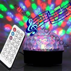 Glob disco laser lumini cristal - Laser lumini club