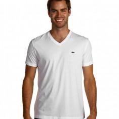 Barbati Lacoste S/S Pima Jersey V-Neck T-Shirt | 100% original | Livrare cca 10 zile lucratoare | Aducem pe comanda orice produs din SUA - Bluza barbati