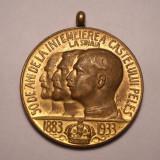 Medalia Peles cu Regele Carol I, Regele Ferdinand si Regele Carol II - Medalii Romania