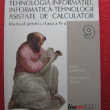 Manual Clasa a IX-a, Informatica - Manual TIC