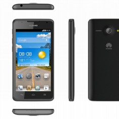 Telefon Huawei, Negru, Orange - Smartphone Huawei Ascend Y530 Black, Garantie 2 ani!