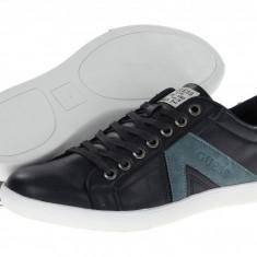 Pantofi barbati - GUESS Jocino piele albastrii 42 43 43 jumatate