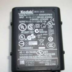 Alimentator Incarcator Kodak AD5002KD/3F8619 5V/1.0A - Incarcator Aparat Foto