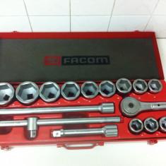 Cheie mecanica - Facom Trusa Tubulare 3/4 Marca FACOM de la 30 la 55 mm